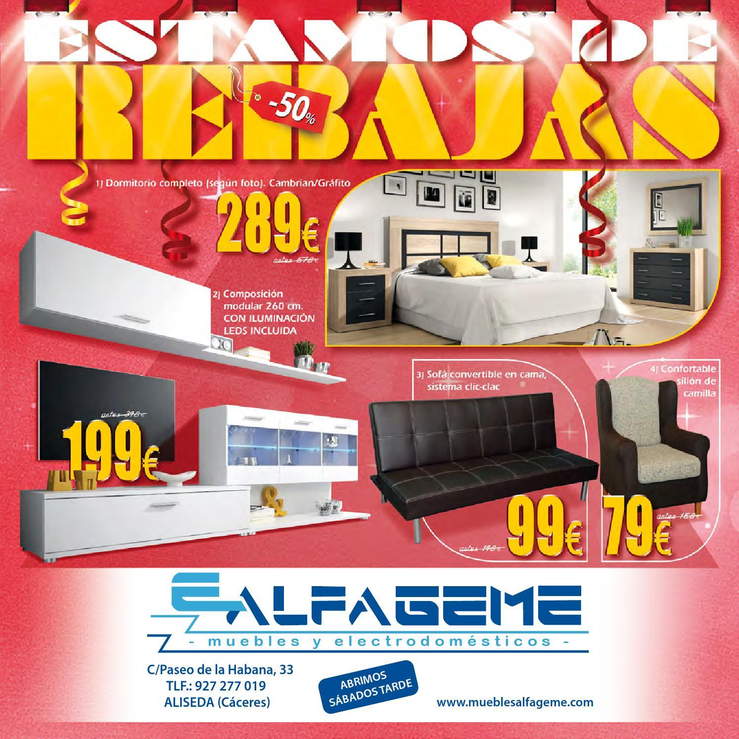 catalogpo muebles alfageme by misfolletos