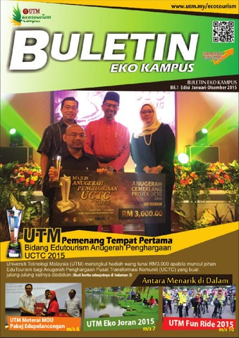 Buletin Eko Kampus 2015 By Universiti Teknologi Malaysia Issuu