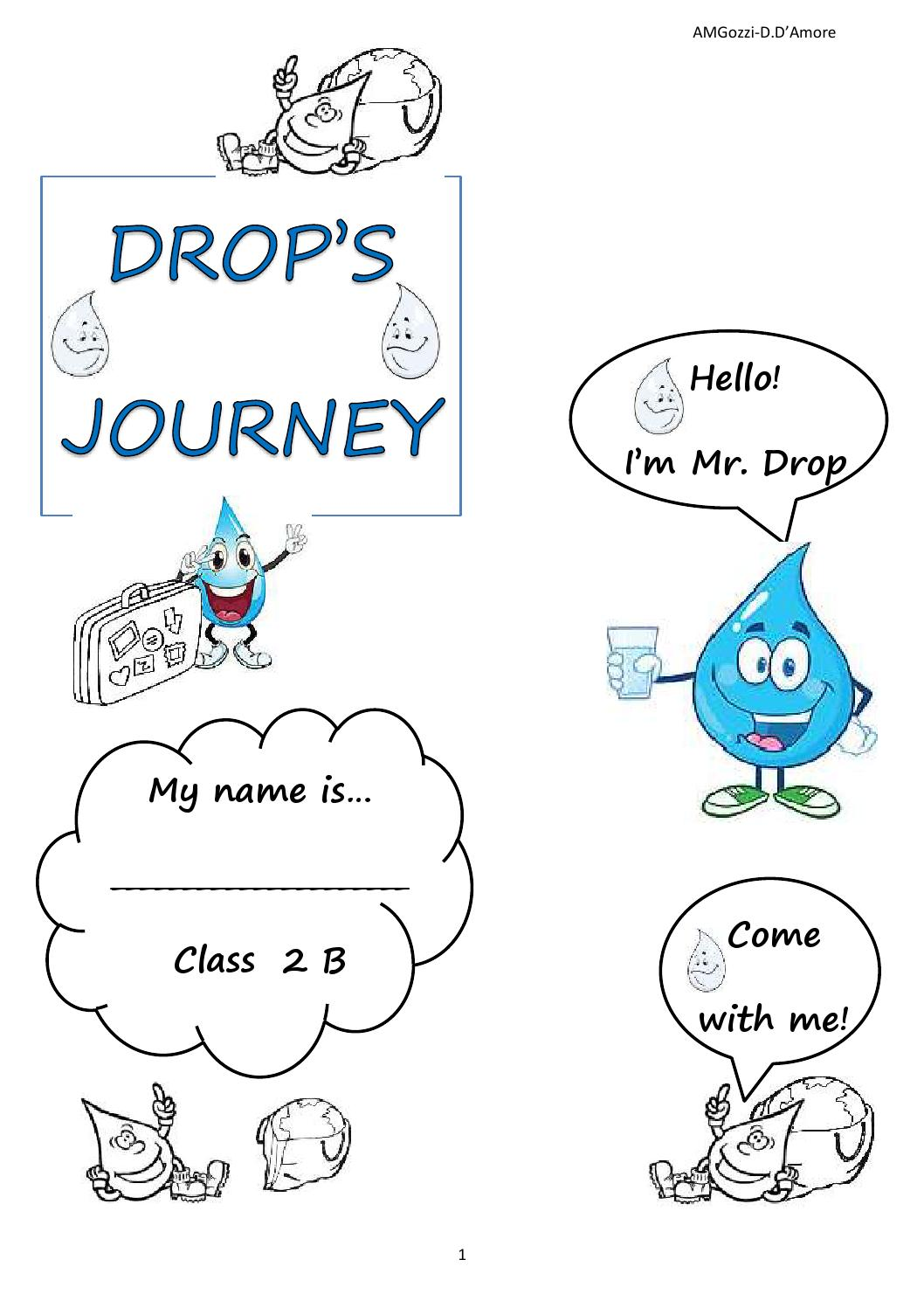 Favoloso Lapbook water cycle primaria casteldario by Anna Maria G. - issuu CM23