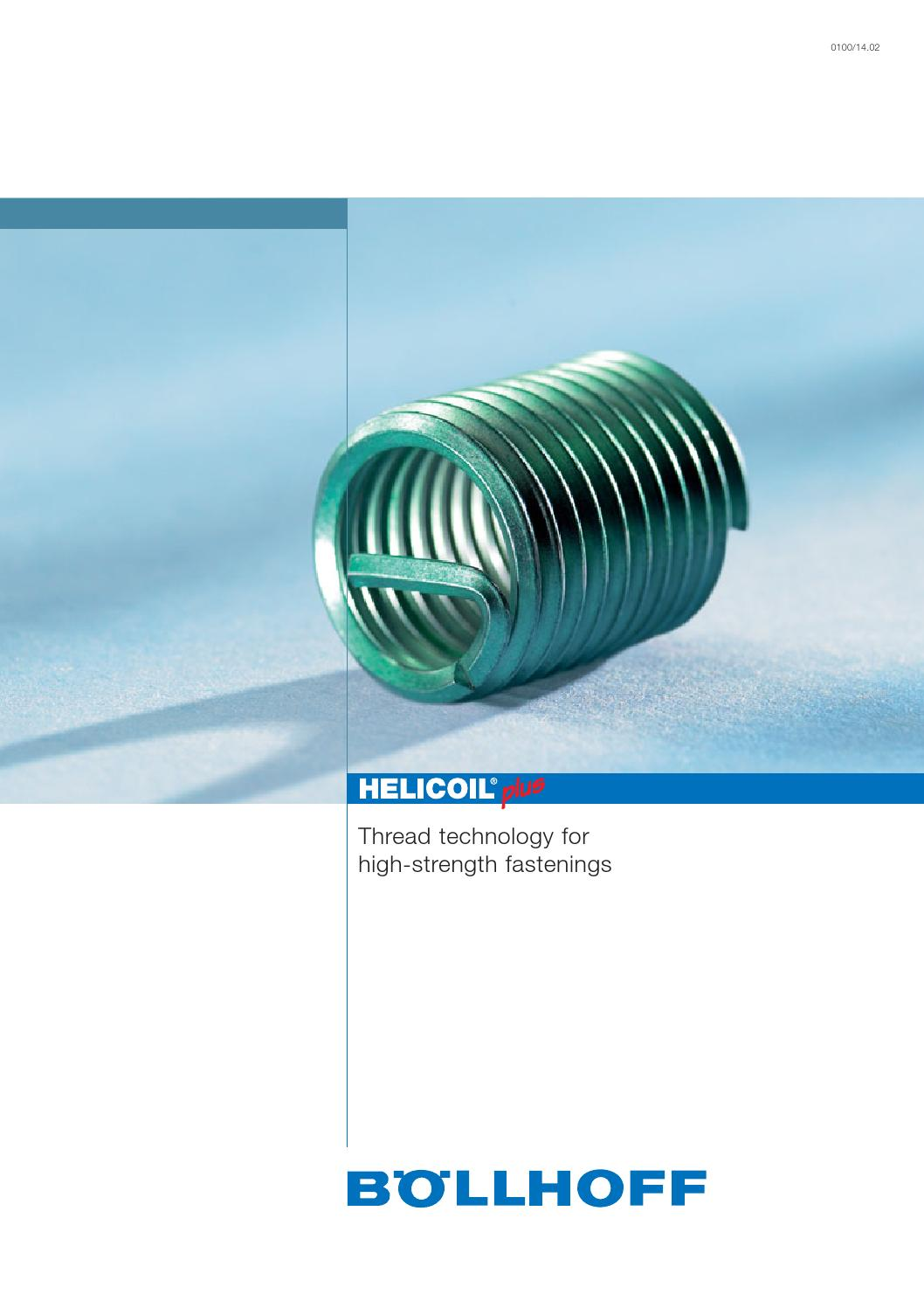 10 Off V-Coil Thread Repair Inserts M12 x 1.75 Compatible With Helicoil 3D