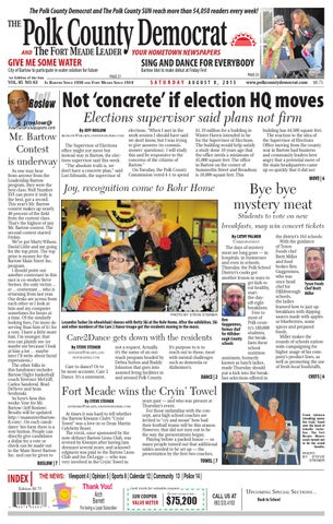 August 8 all democrat by Lake Wales News - issuu
