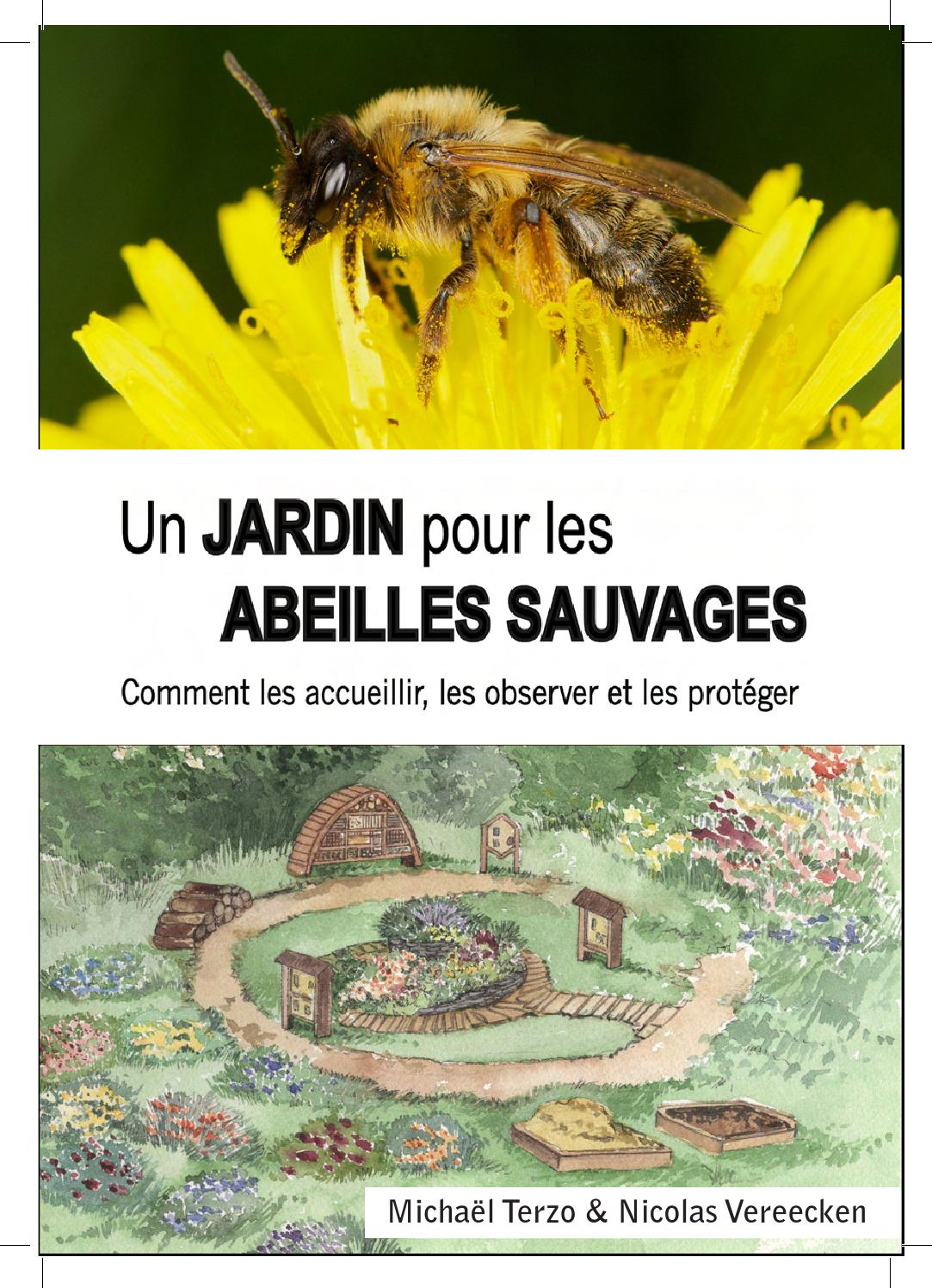 jardin pour abeilles sauvages brochure fr by terretous saint joseph saint ghislain belgique. Black Bedroom Furniture Sets. Home Design Ideas