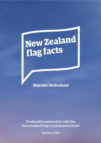 3 Flag Facts Section ONE Referendum Process 8 TWO Maori And Flags
