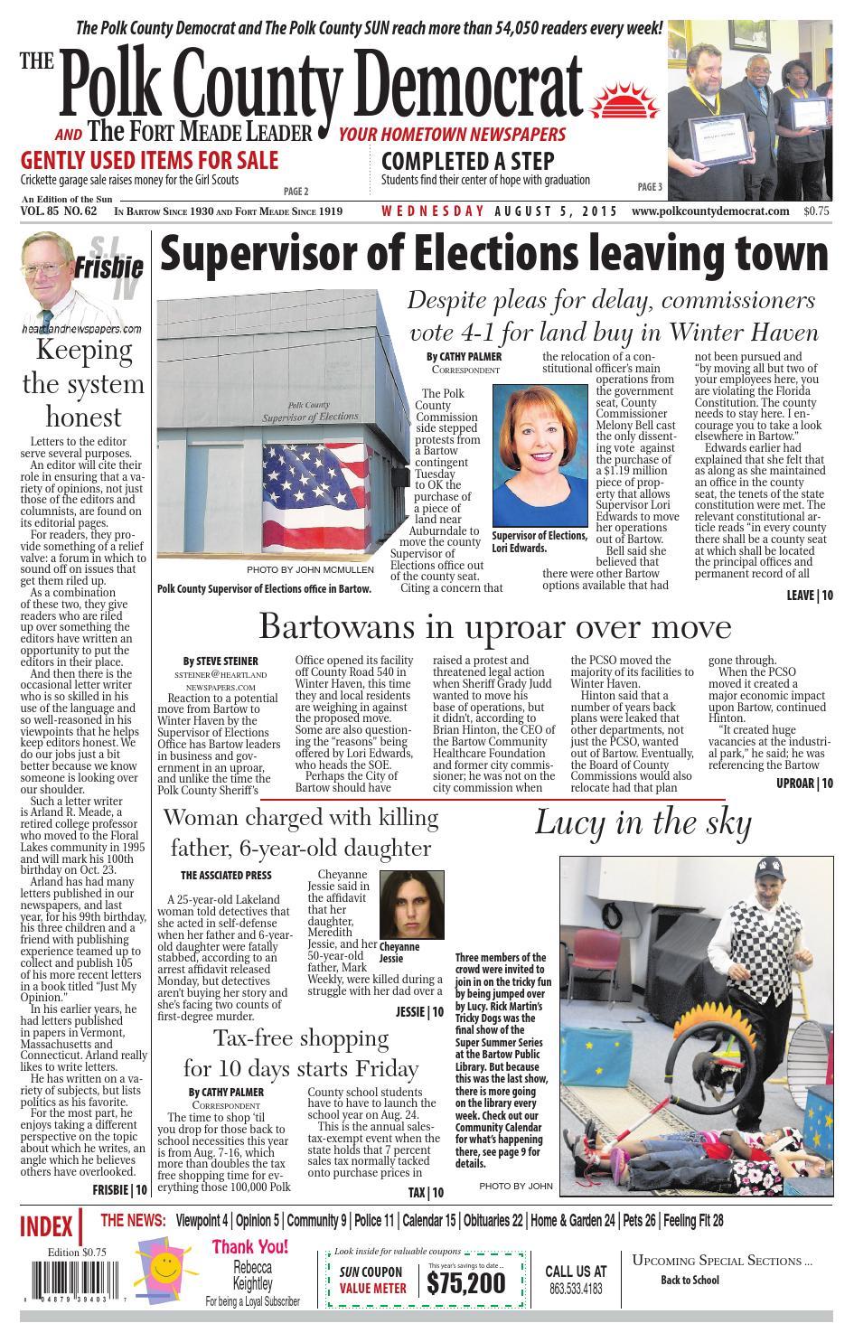 Democrat august 5 by Lake Wales News - issuu