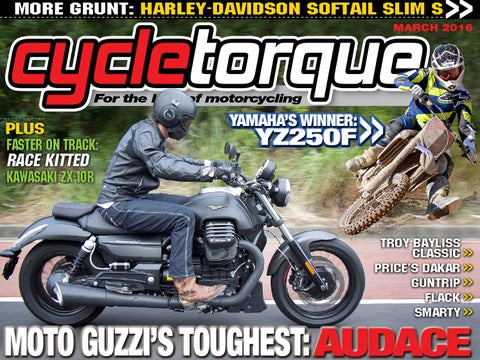 Cycle torque march 2016 issue by cycle torque issuu more grunt harley davidson softail slim s fandeluxe Choice Image