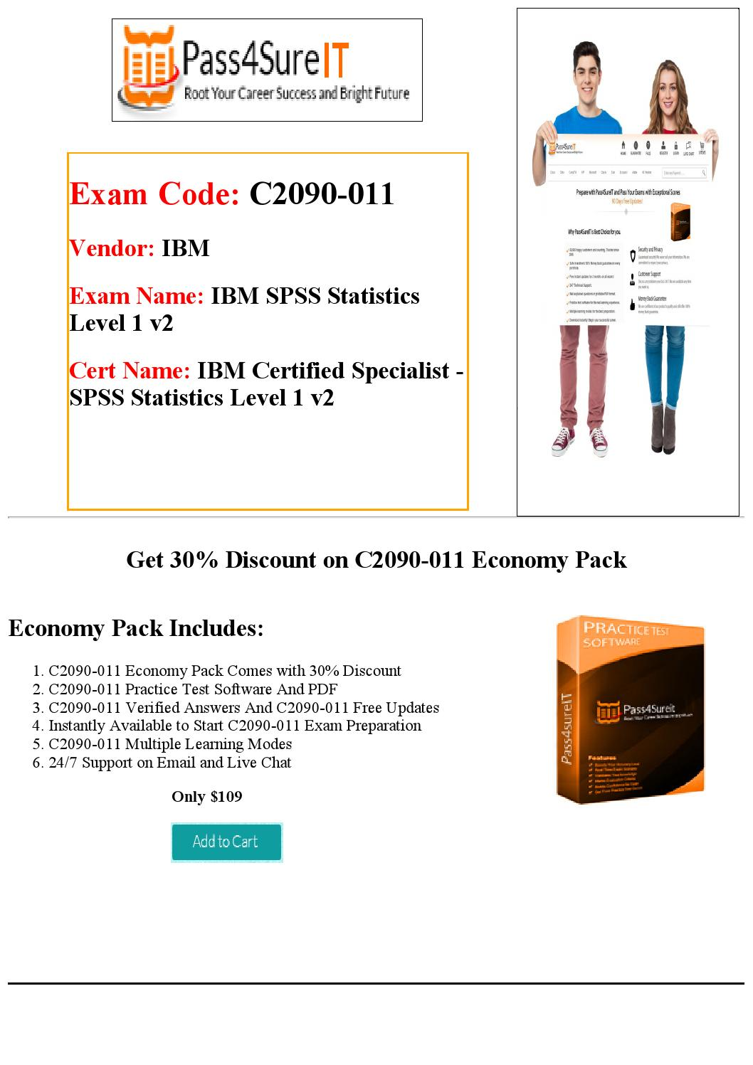 Pass4sure c2090-011 exam question and answers by Courtney