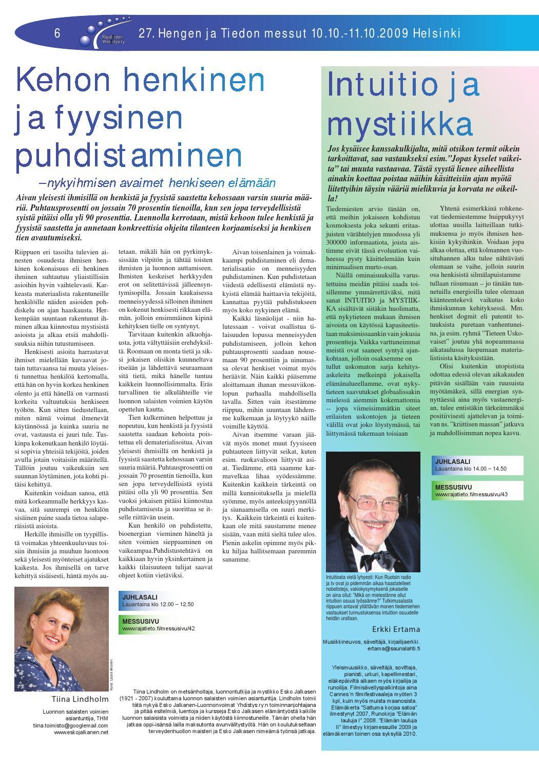 Hengen Ja Tiedon Messut Helsinki 2021