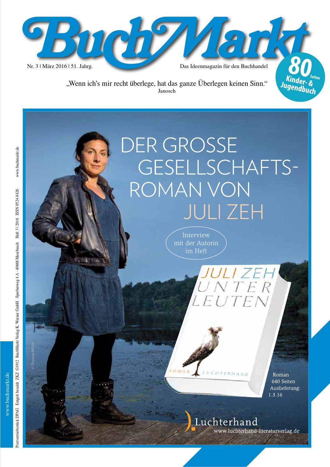 BuchMarkt Leseprobe & Verlagsanzeigen 03/2016 by BuchMarkt - issuu