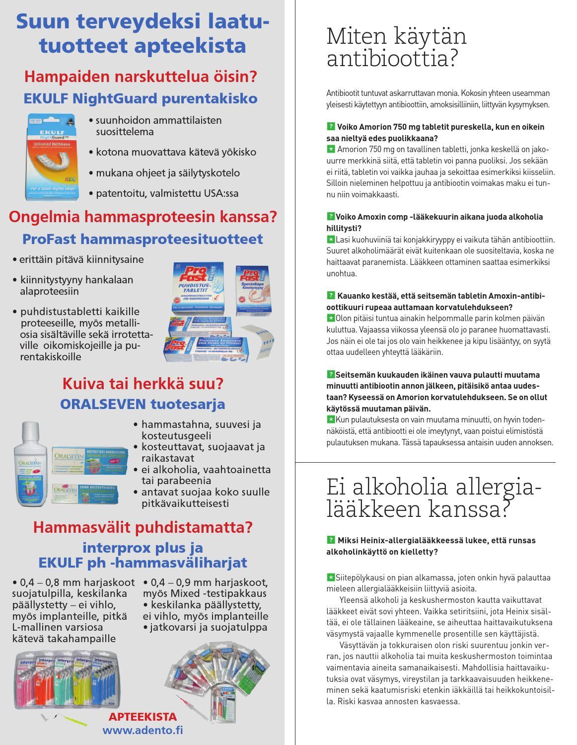 Antibiootti Amorion