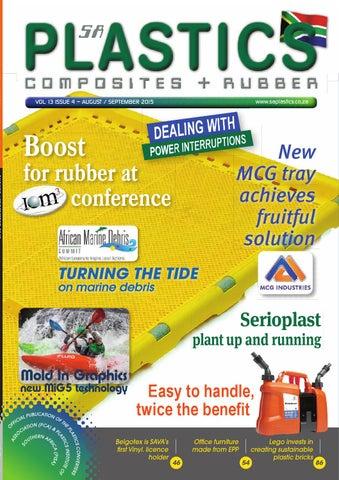 Sa plastics aug sept 2015 by sa plastics composites rubber issuu saplastics malvernweather Choice Image