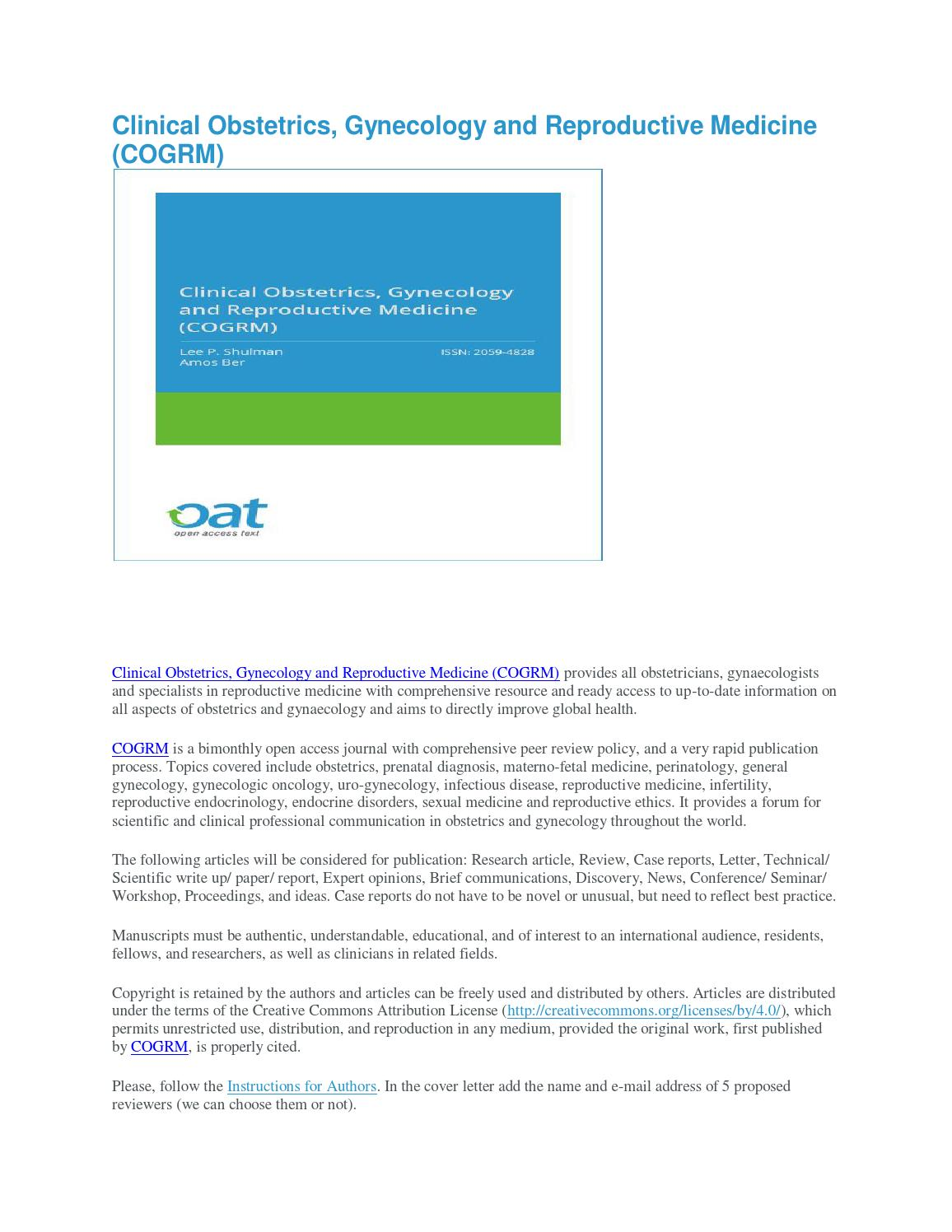 Clinical obstetrics