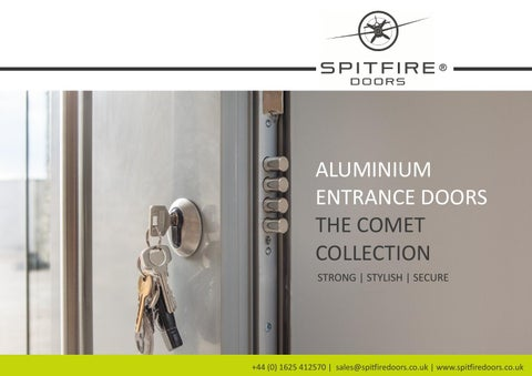 Spitfire Doors | The Comet Collection  sc 1 st  Issuu & Fabtech Doors Standard configurations by Mark Edlin - issuu pezcame.com