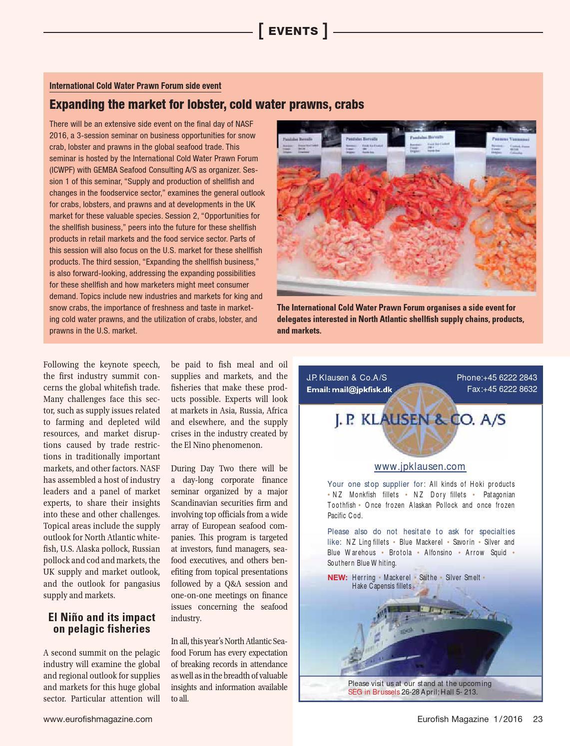 Eurofish magazine 1 2016 by Eurofish - issuu