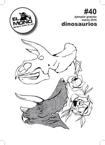 EL MONO #40 DINOSAURIOS by revistaelmono - issuu