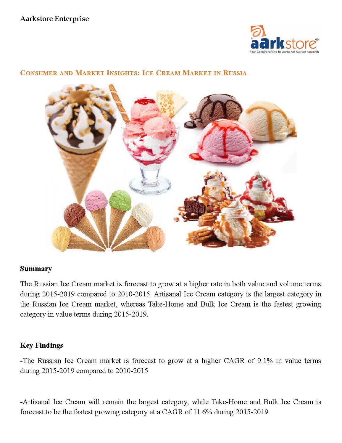 Ice Cream Market in Russia: AarkstoreEnterprise by Aarkstore ...