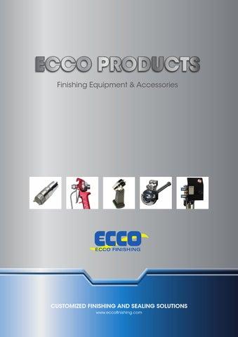 Ecco finishing produktkatalog web engelska by SL-AB - issuu