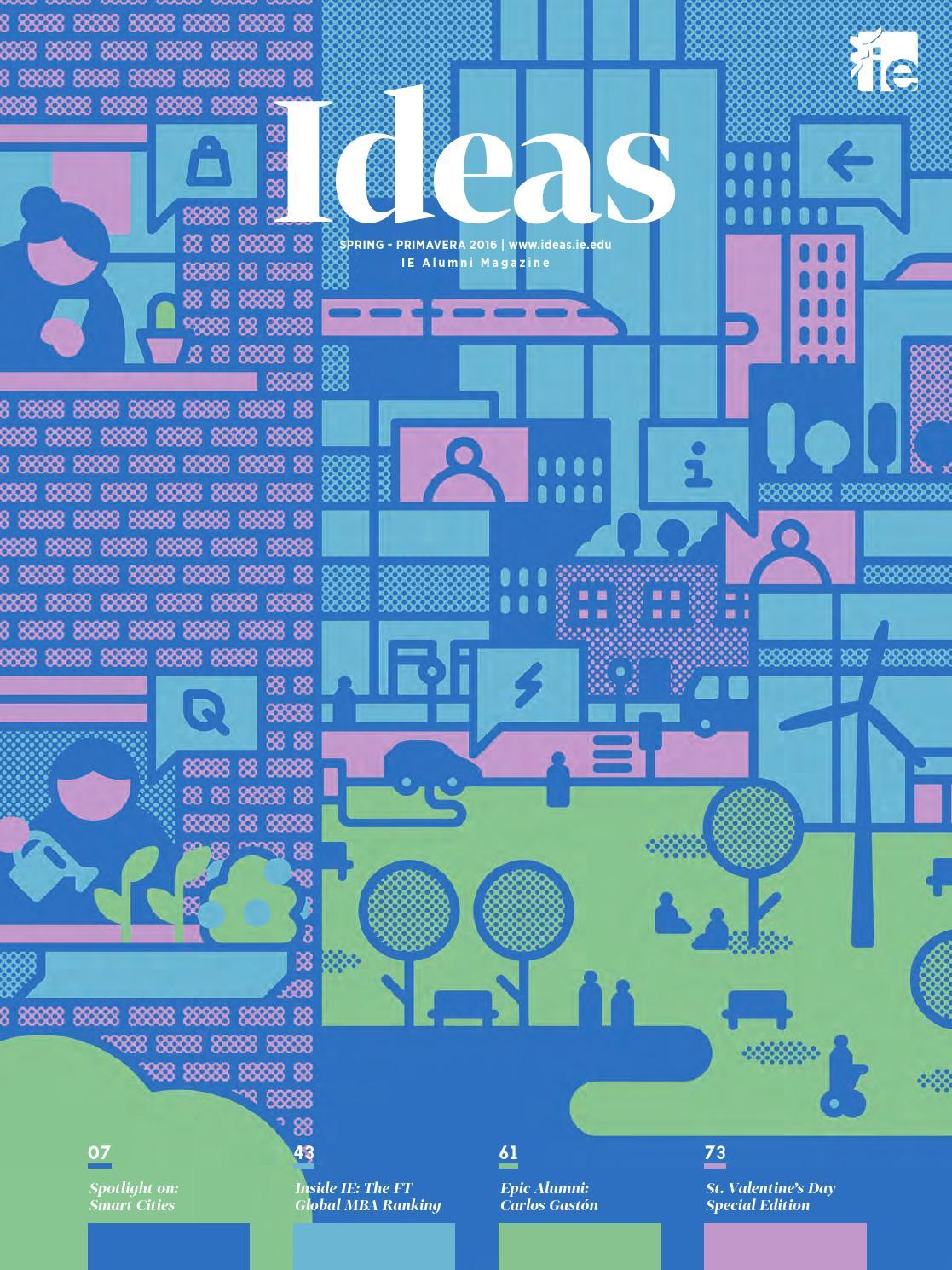Ideas 130 by IE Alumni - issuu