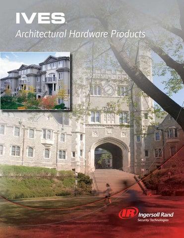 Ives Hardware Full Line Catalog By C E I Issuu