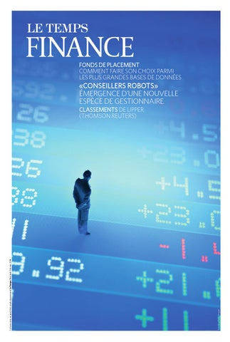 eeaf9131f6b7a6 Le Temps - Finances 2016 by Le Temps - issuu