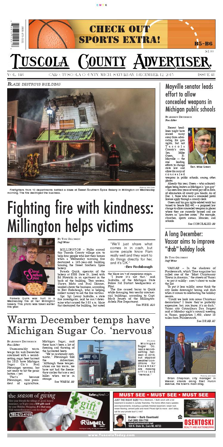 Tca 12 12 15 all pages by Tuscola County Advertiser - issuu
