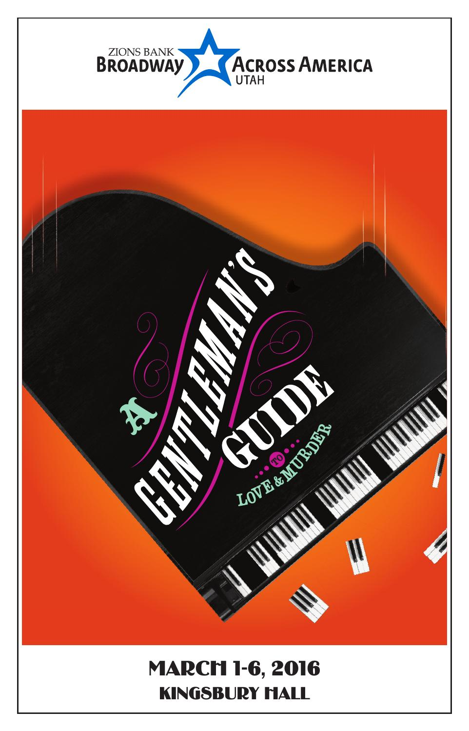 A Gentleman's Guide to Love & Murder by Mills Publishing Inc
