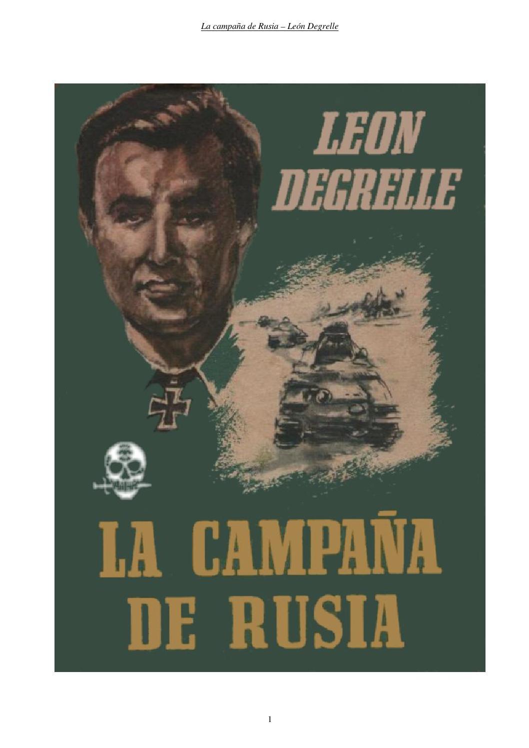 La campana de rusia leon degrelle by Rapido Guderian - issuu 692518215e9