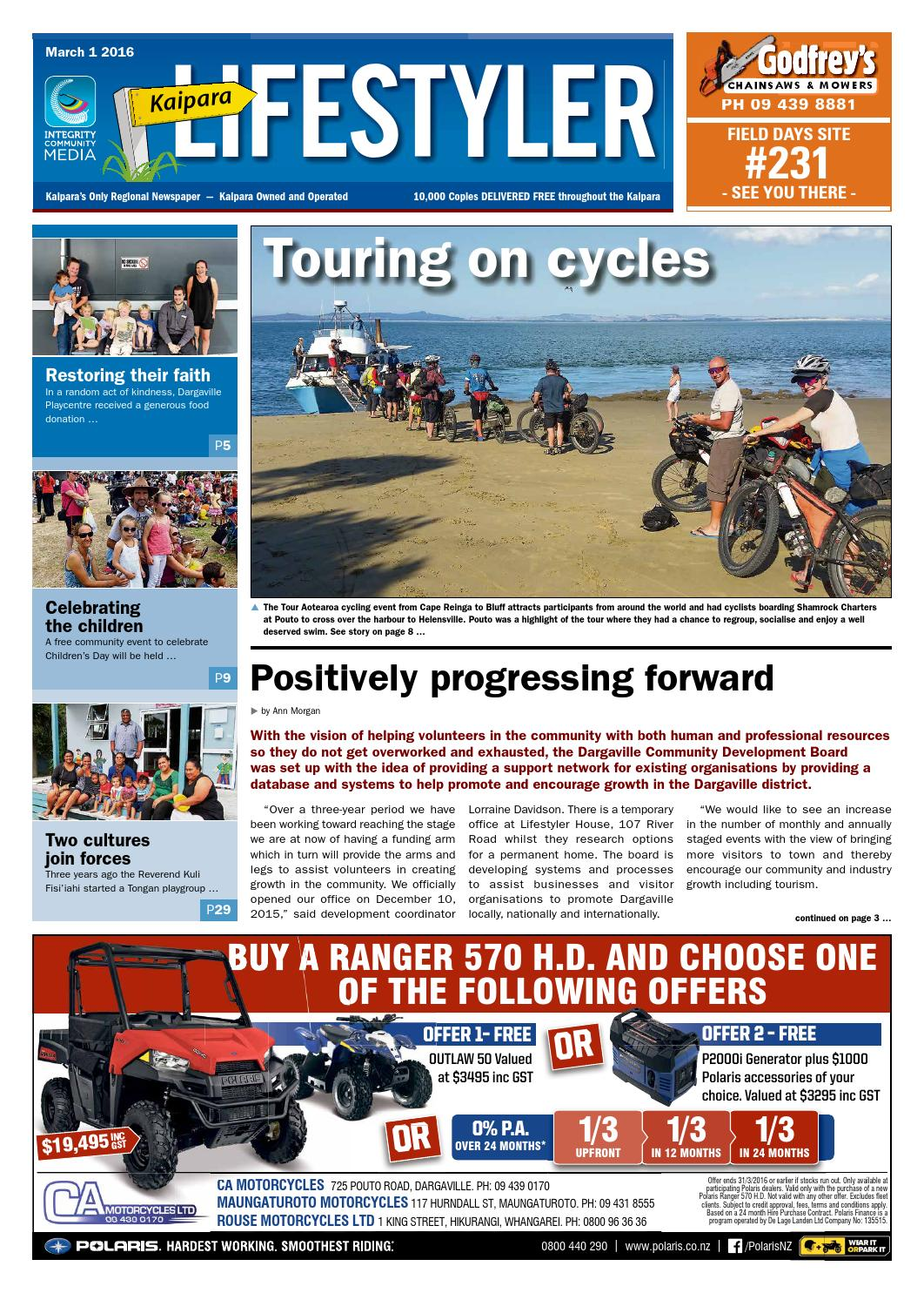 Kaipara lifestyler march 1st 2016 by integrity community media issuu fandeluxe Images