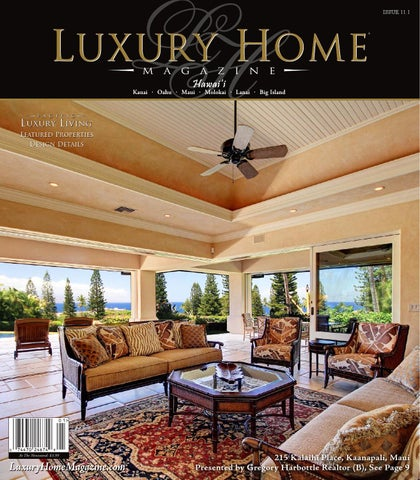 Luxury Home Magazine Hawaii Issue 11.1 By Luxury Home Magazine   Issuu