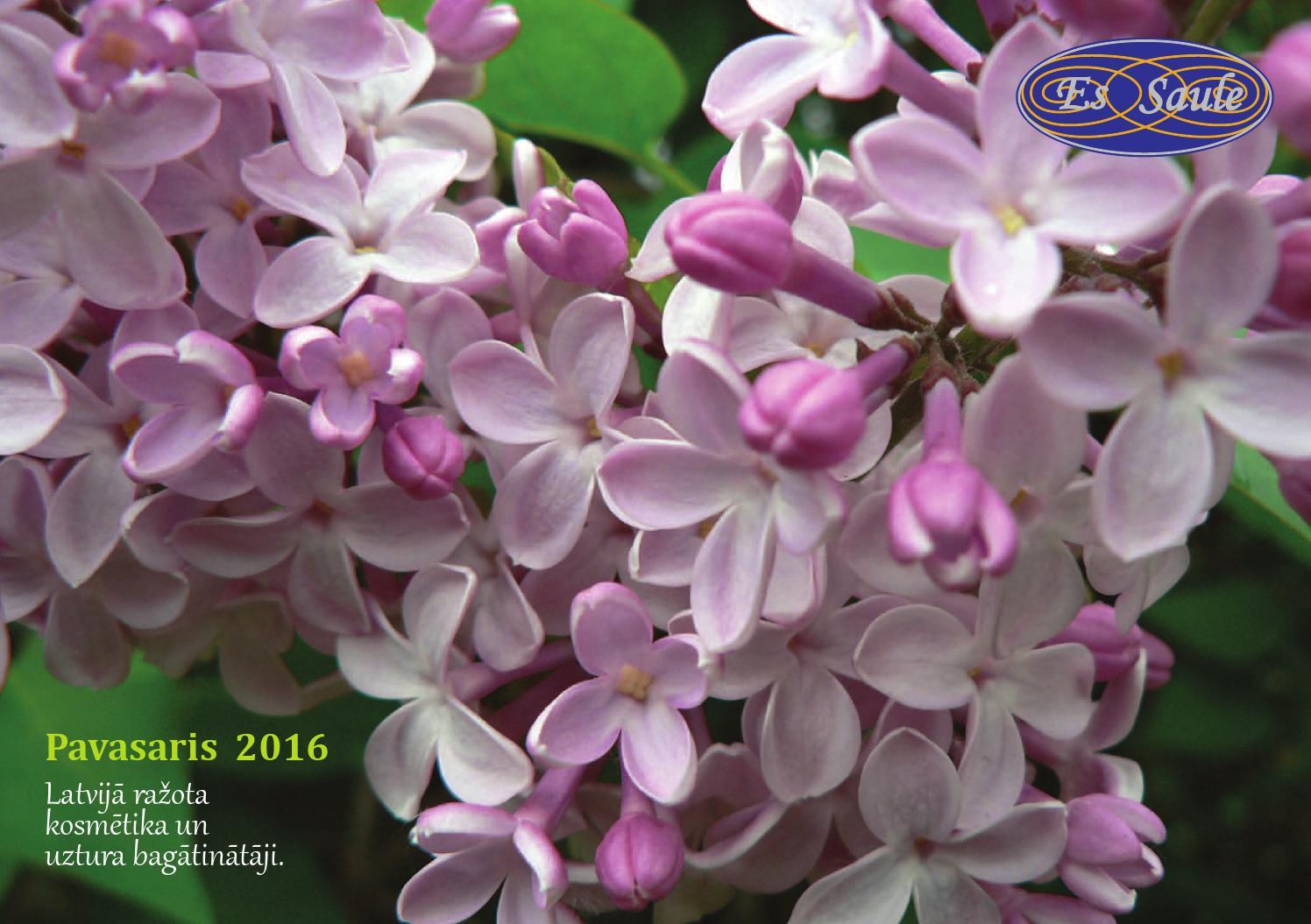 EsSaule katalogs «Pavasaris 2016», Каталог «Весна 2016» by ...