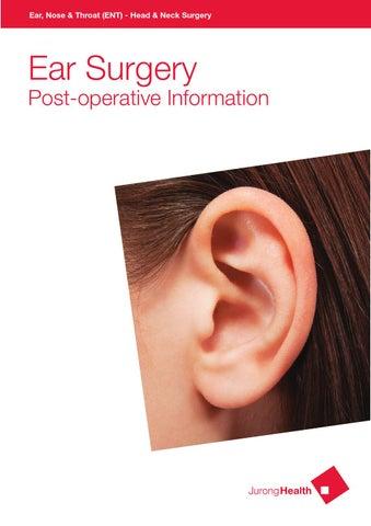 Ear, Nose & Throat (ENT) – Head & Neck Surgery - Ear Surgery