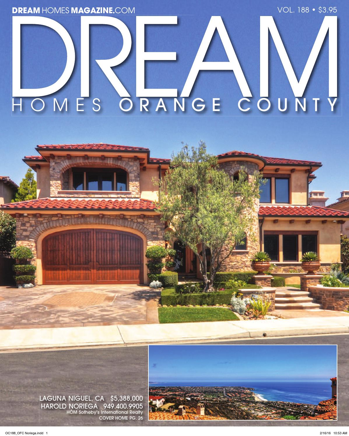 Dream Homes Magazine By Emerald Bay Real Estate | Harold Noriega   Issuu