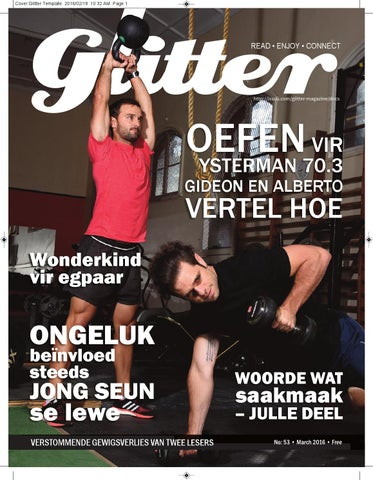 "Cover of ""Glitter March 2016"""