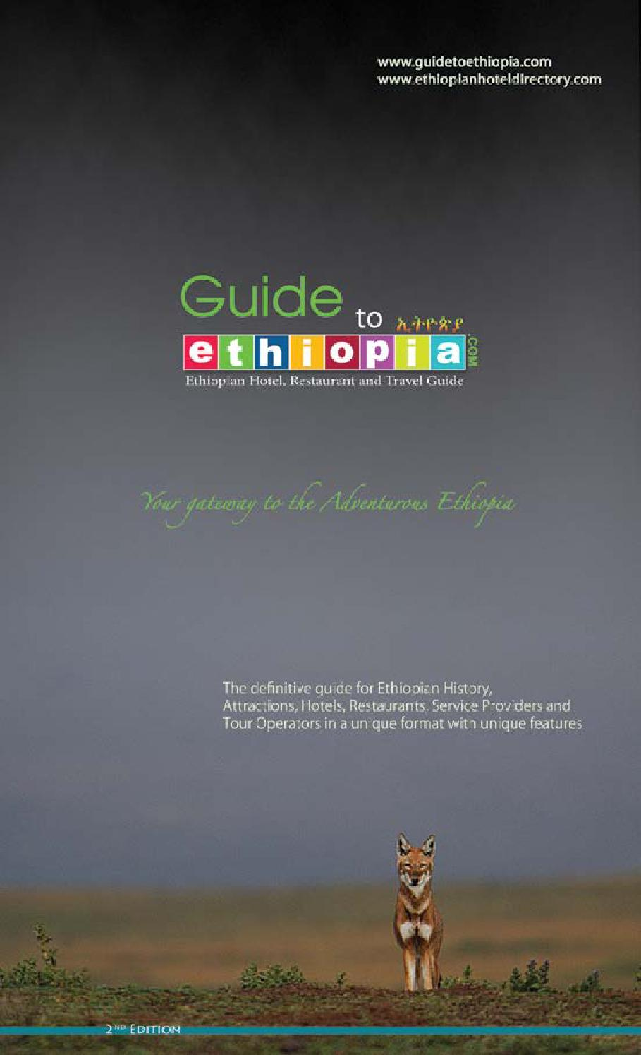 Guide Book 2nd Edition By Guide To Ethiopia Issuu
