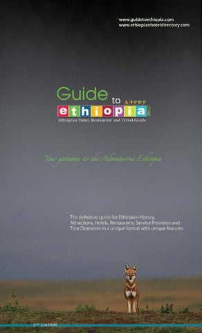 Guide book 2nd Edition by Guide to Ethiopia - issuu