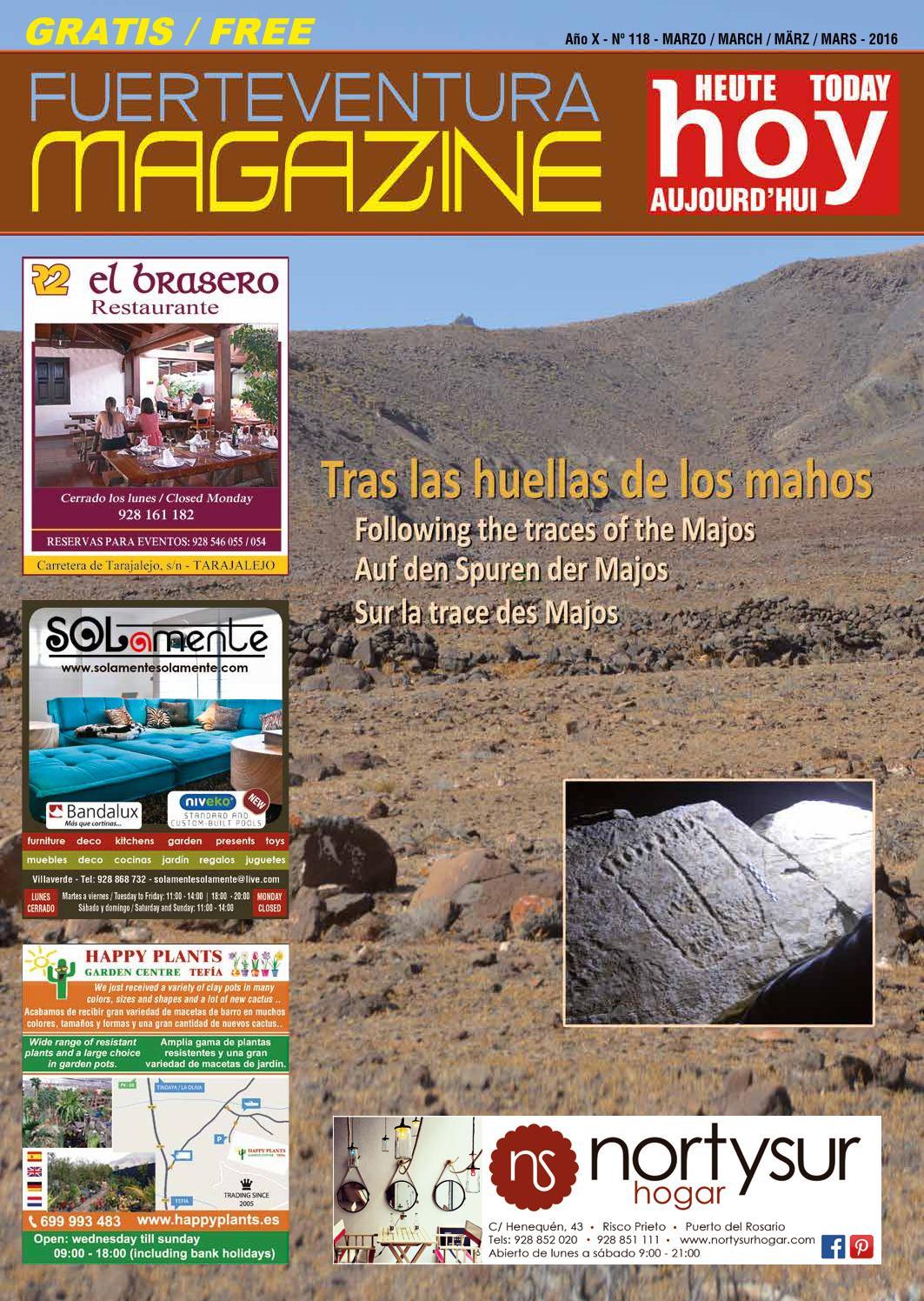 FUERTEVENTURA MAGAZINE HOY - Nº 118 - MARZO 2016 by Fuerteventura ...