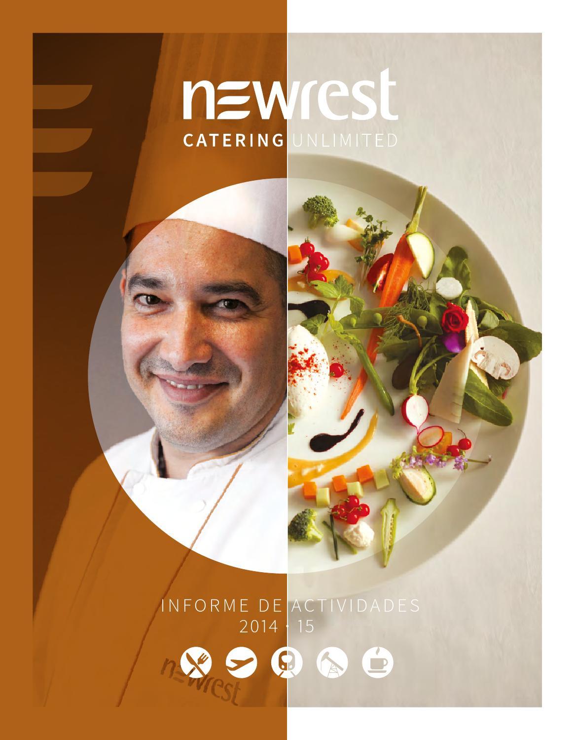 Informe de actividades 2014/15 by Newrest - issuu