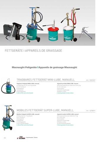 Oel und fettgeraete by Motorex - issuu