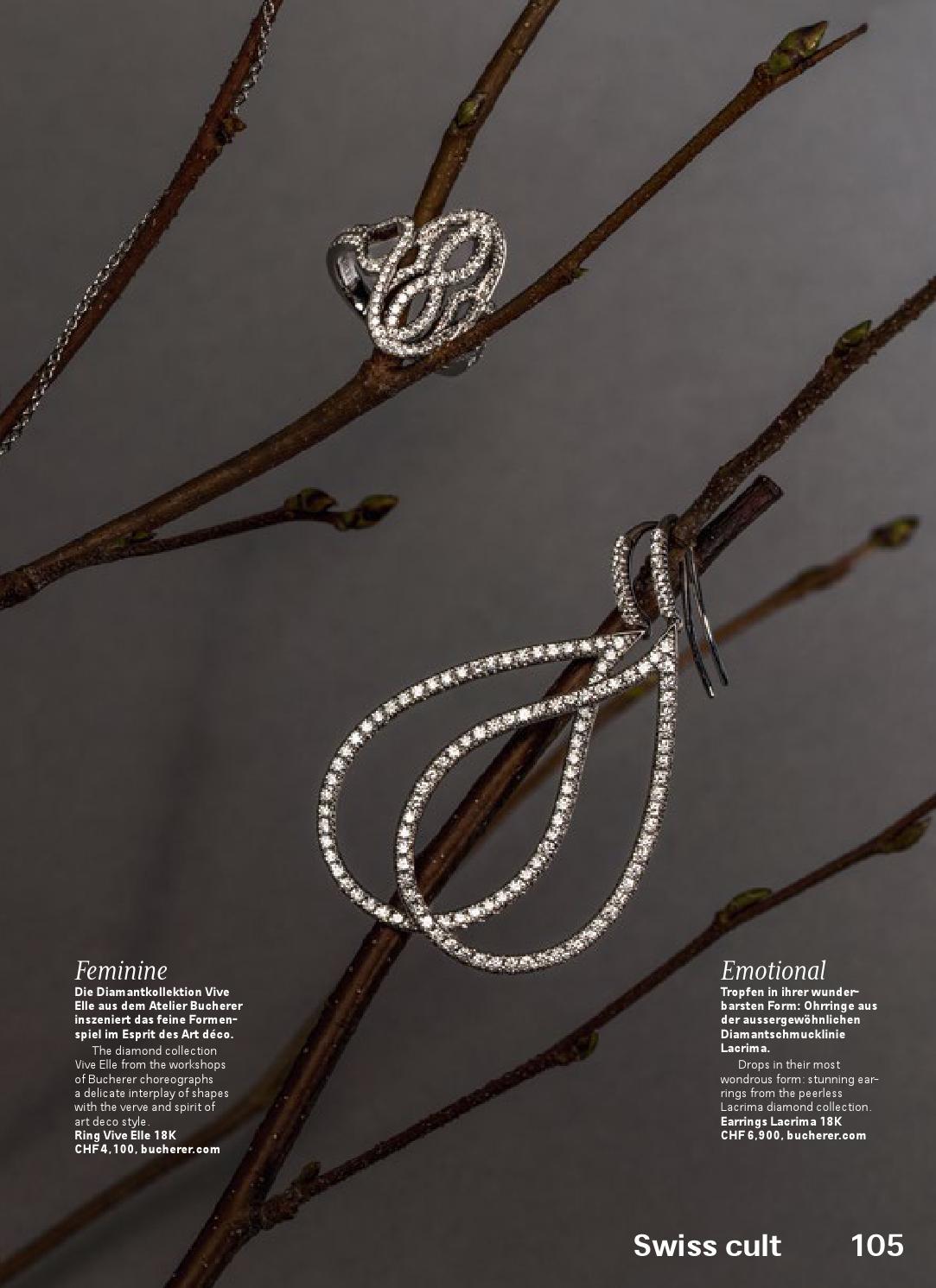 Esprit Art Deco Com swiss magazine march 2016 - hong kongswiss international