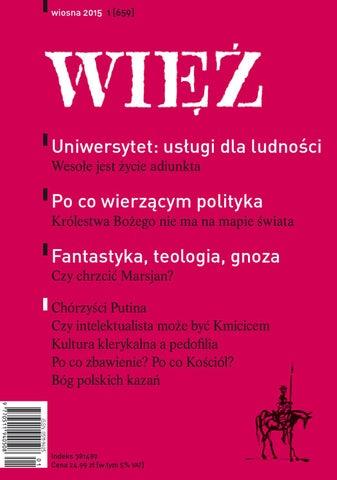 3207a86f24 Wiez 1 2015 by Towarzystwo WIĘŹ - issuu