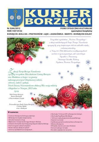 Kurier Borzęcki Nr 3 2012 By Gmina Borzęcin Issuu