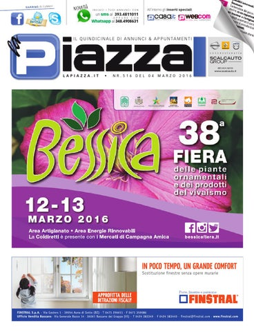 La Piazza 516 By La Piazza Di Cavazzin Daniele Issuu