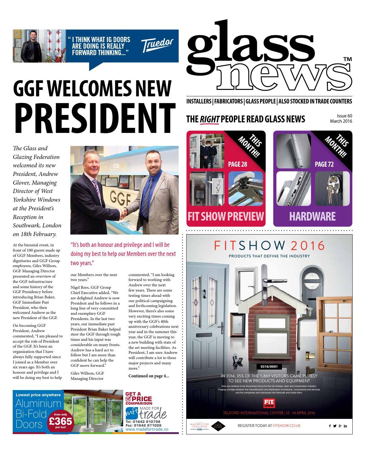 Glass News March 2016 by Christina Shaw - issuu