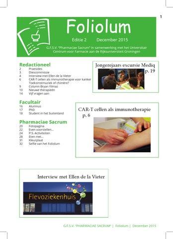 Binnenwerk Foliolum 2 December Drukker By Pharmaciae Sacrum Issuu