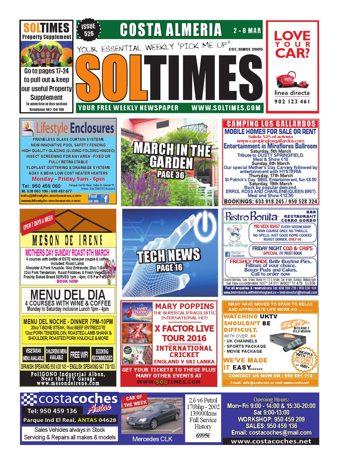 8e4b3a67cccb Almeria 526 by Sol Times - issuu