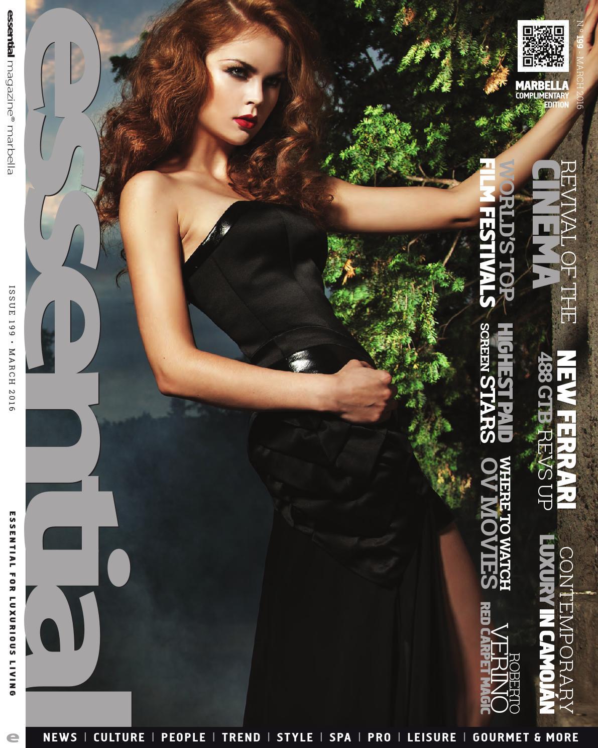 Essential Magazine March 2016 By Publicaciones Independientes