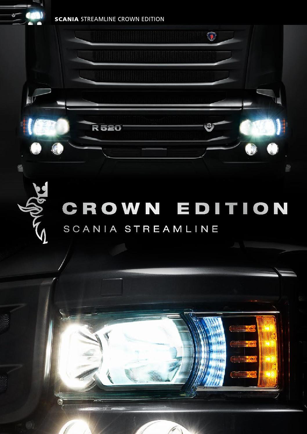 The Scania Streamline Crown Edition by Scania (Great Britain