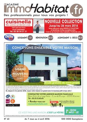 Magazine N 43 Du 7 Mars 2016 Immohabitat Fr By Immohabitat