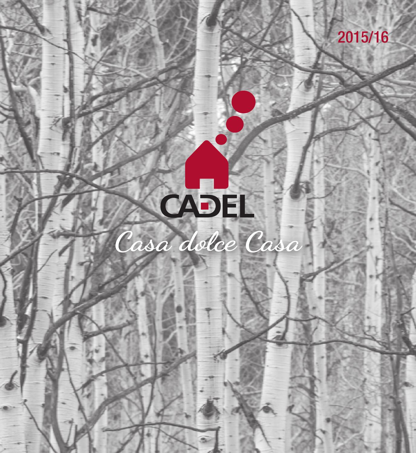 Cadel catalogo 2015-16 by StudioBreda - issuu
