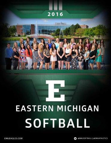 2016 Softball Media Guide By Eastern Michigan University