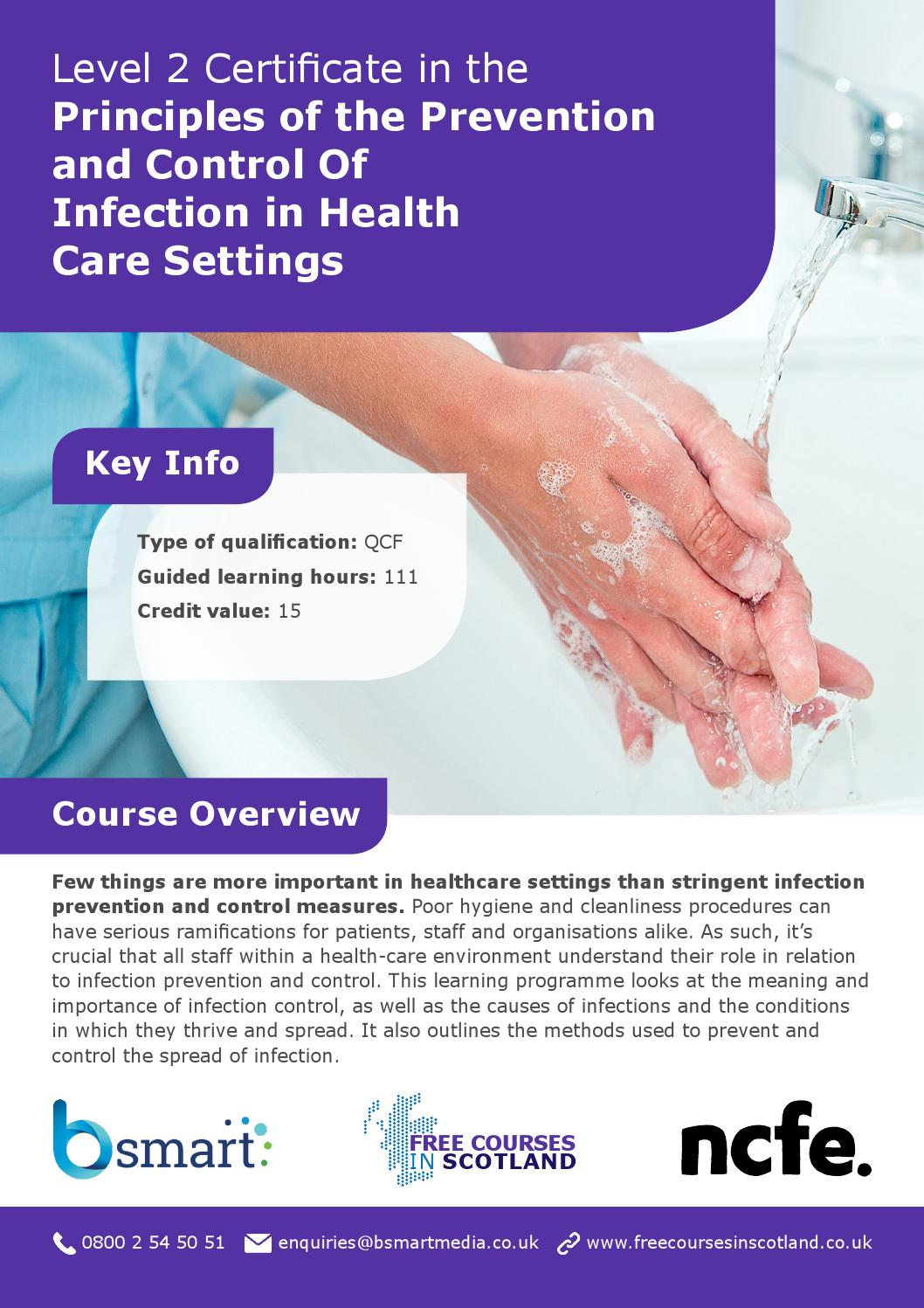 Cu311 principles of infection prevent